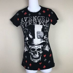 Avenged Sevenfold Graphic T-shirt Size Small